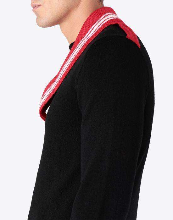 MAISON MARGIELA Décortiqué jersey sweatshirt Crewneck sweater [*** pickupInStoreShippingNotGuaranteed_info ***] a