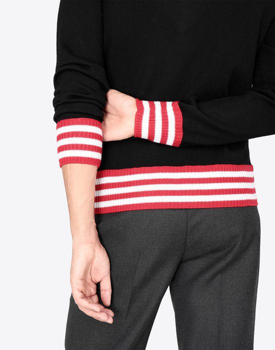 MAISON MARGIELA Décortiqué jersey sweatshirt Crewneck sweater [*** pickupInStoreShippingNotGuaranteed_info ***] b