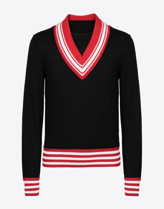 MAISON MARGIELA Décortiqué jersey sweatshirt Crewneck sweater [*** pickupInStoreShippingNotGuaranteed_info ***] f