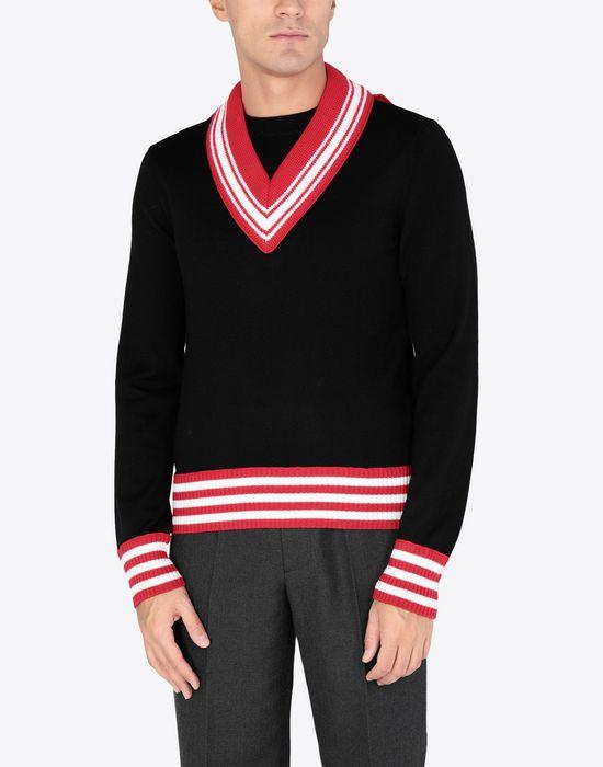 MAISON MARGIELA Décortiqué jersey sweatshirt Crewneck sweater [*** pickupInStoreShippingNotGuaranteed_info ***] r
