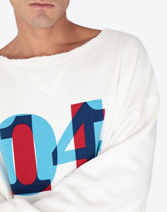 MAISON MARGIELA Printed jersey sweatshirt Sweatshirt [*** pickupInStoreShippingNotGuaranteed_info ***] b