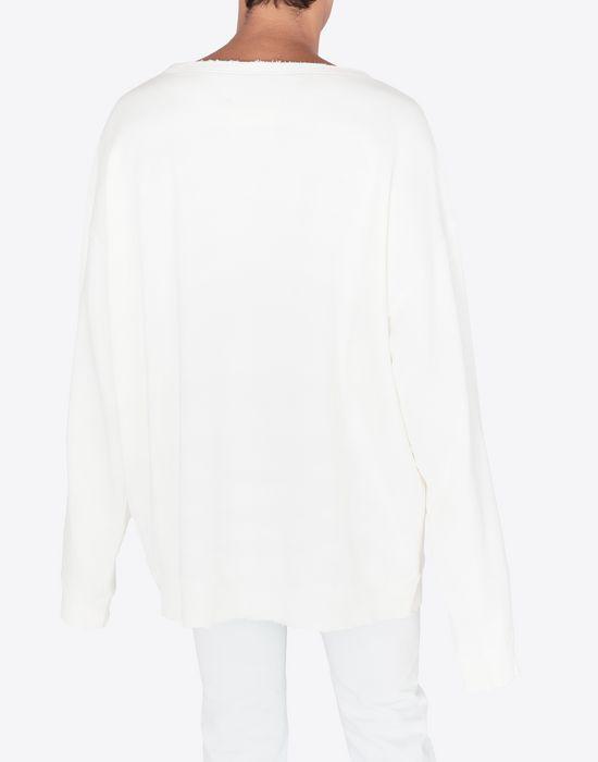 MAISON MARGIELA Printed jersey sweatshirt Sweatshirt [*** pickupInStoreShippingNotGuaranteed_info ***] e