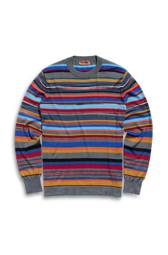 MISSONI Crew-neck Grey Man