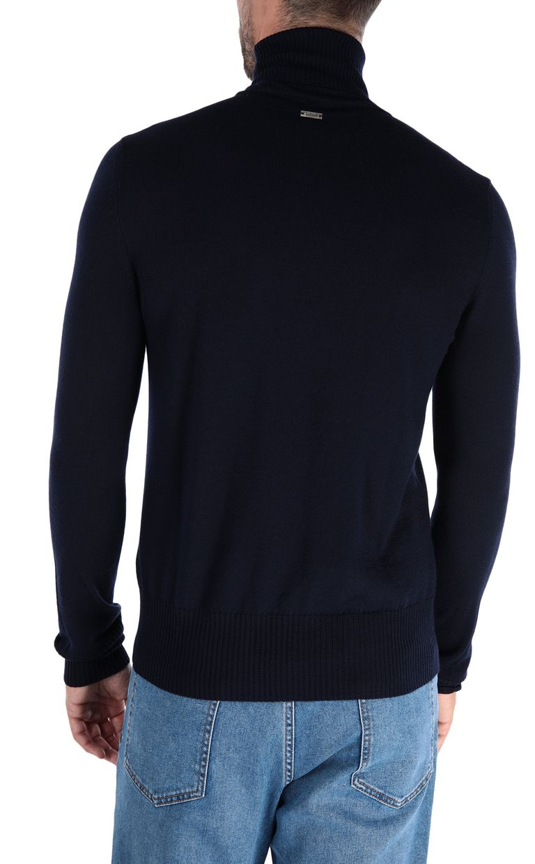 JUST CAVALLI Jacquard carpet pullover High neck sweater Man d
