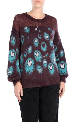 JUST CAVALLI Crewneck sweater [*** pickupInStoreShipping_info ***] Eye Of The Peacock sweater f
