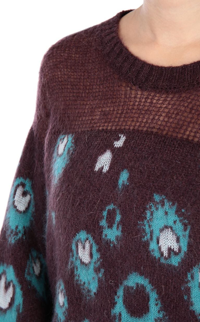 JUST CAVALLI Eye Of The Peacock sweater Crewneck sweater [*** pickupInStoreShipping_info ***] e
