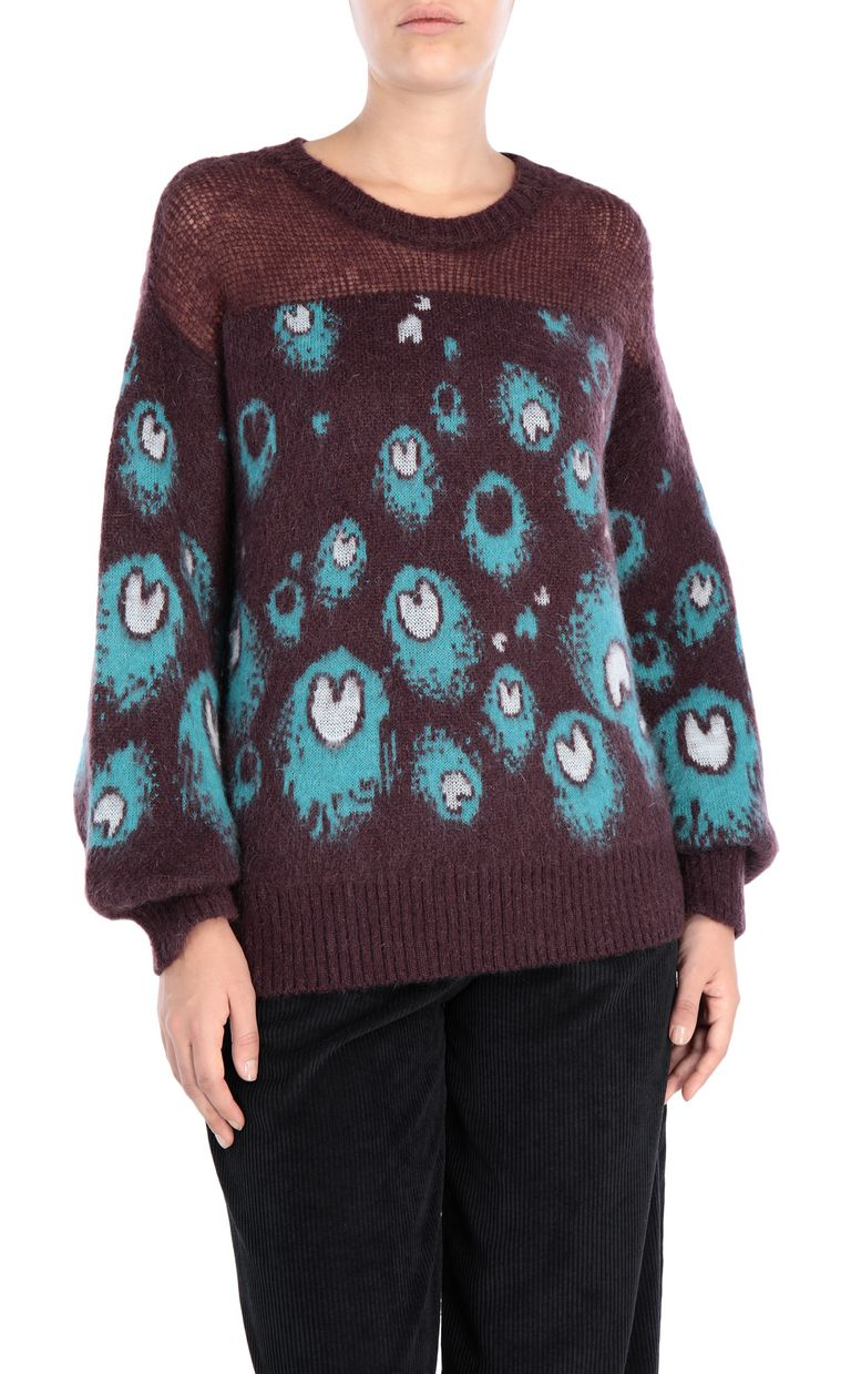 JUST CAVALLI Eye Of The Peacock sweater Crewneck sweater [*** pickupInStoreShipping_info ***] f