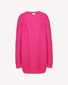 REDValentino Knit Sweater Woman QR0KC1E8459 0NO a