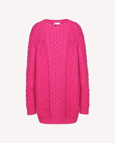 REDValentino Knit Sweater Woman QR0KC1E4454 FA9 a