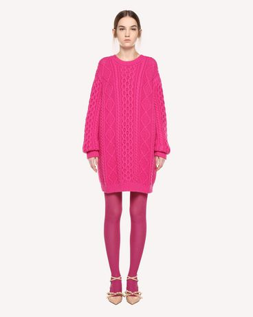 REDValentino QR0KC1E4454 FA9 Knit Sweater Woman f