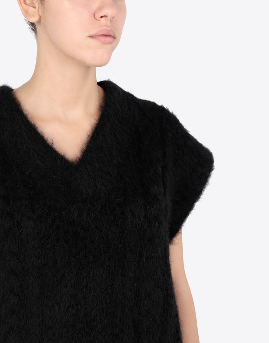 MAISON MARGIELA Multi-stitch braided sleeveless jumper Sleeveless sweater [*** pickupInStoreShipping_info ***] a