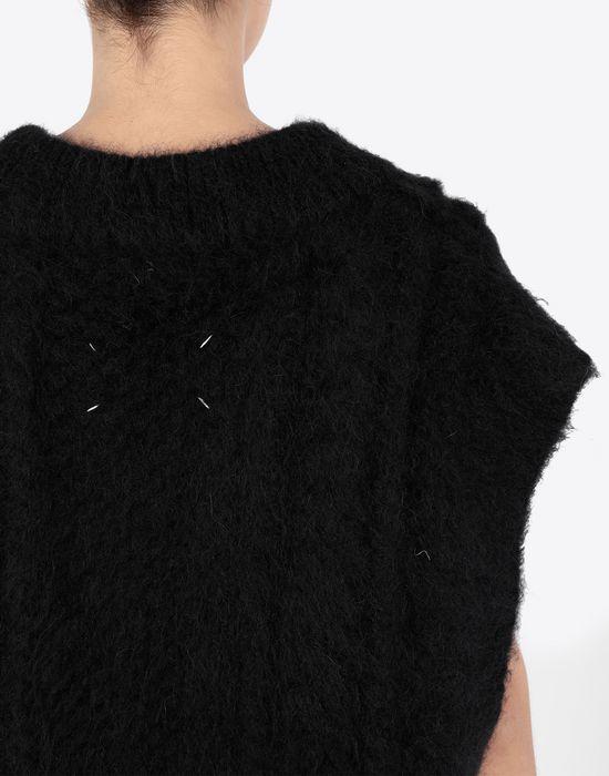 MAISON MARGIELA Multi-stitch braided sleeveless jumper Sleeveless sweater [*** pickupInStoreShipping_info ***] b