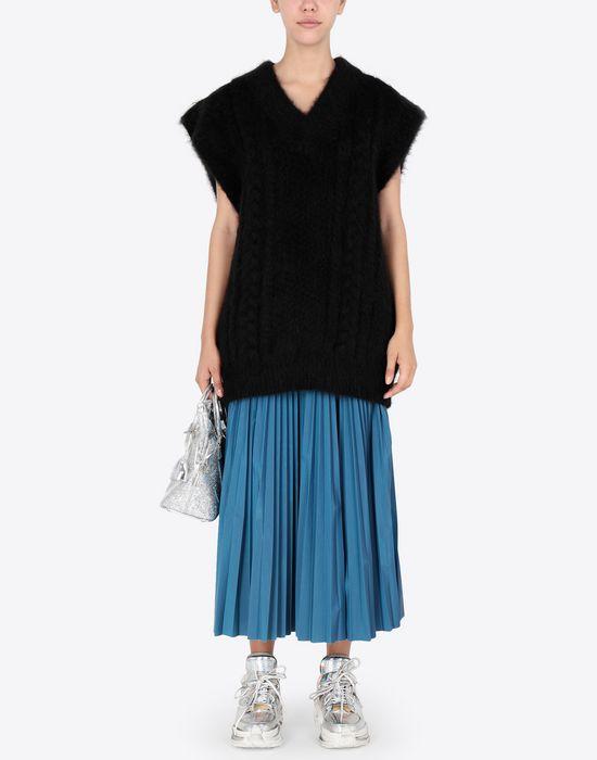 MAISON MARGIELA Multi-stitch braided sleeveless jumper Sleeveless sweater [*** pickupInStoreShipping_info ***] d