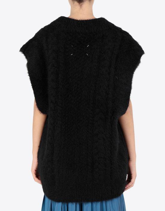 MAISON MARGIELA Multi-stitch braided sleeveless jumper Sleeveless sweater [*** pickupInStoreShipping_info ***] e