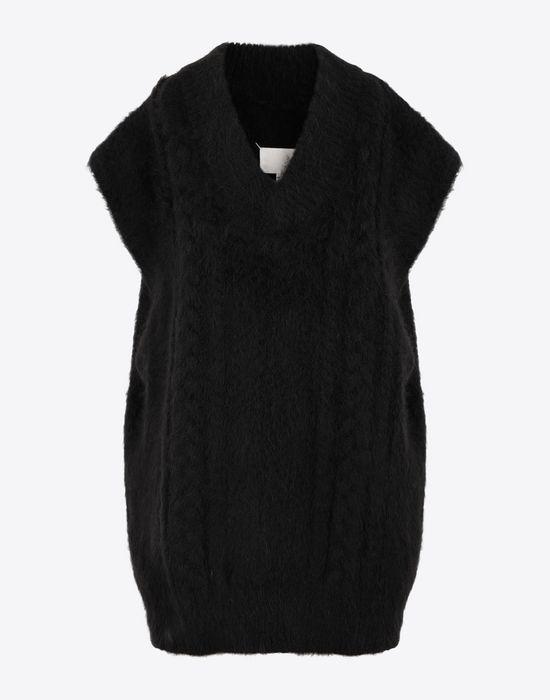 MAISON MARGIELA Multi-stitch braided sleeveless jumper Sleeveless sweater [*** pickupInStoreShipping_info ***] f