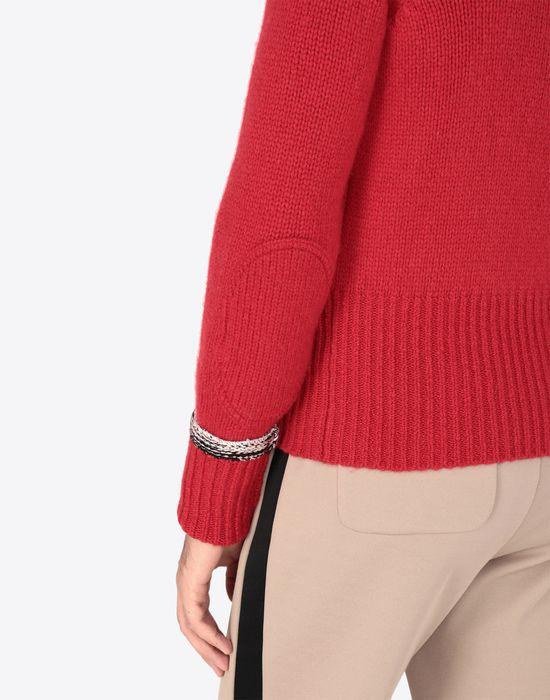 MAISON MARGIELA Cashmere knitted sweatshirt Long sleeve sweater [*** pickupInStoreShippingNotGuaranteed_info ***] b