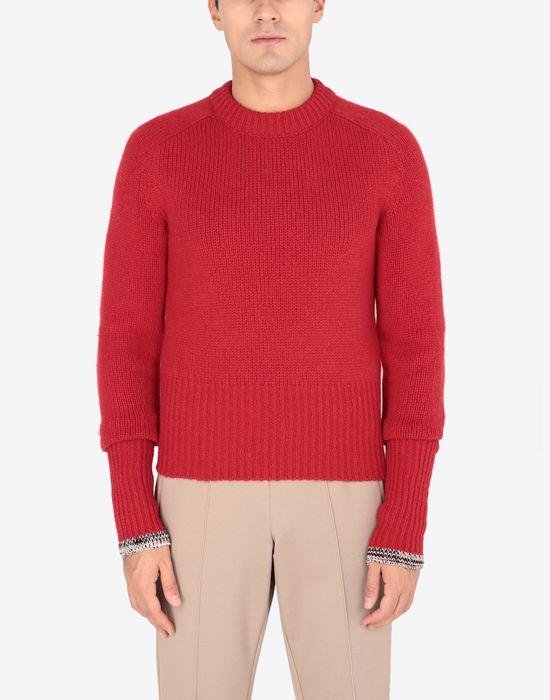 MAISON MARGIELA Cashmere knitted sweatshirt Long sleeve sweater [*** pickupInStoreShippingNotGuaranteed_info ***] r