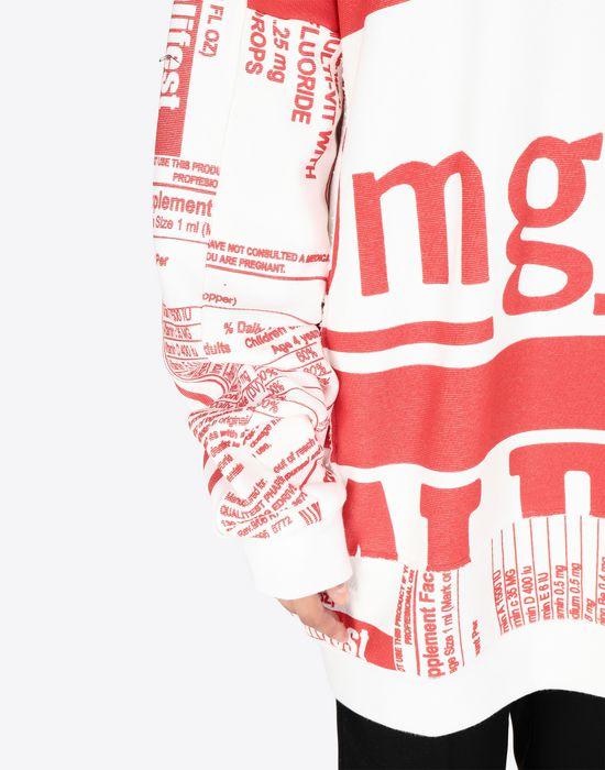 MAISON MARGIELA Vitamin print sweatshirt Sweatshirt [*** pickupInStoreShipping_info ***] a