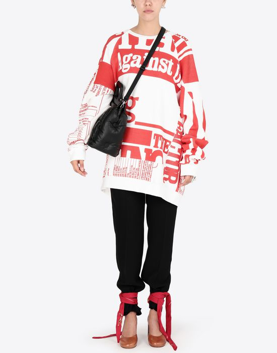 MAISON MARGIELA Vitamin print sweatshirt Sweatshirt [*** pickupInStoreShipping_info ***] d