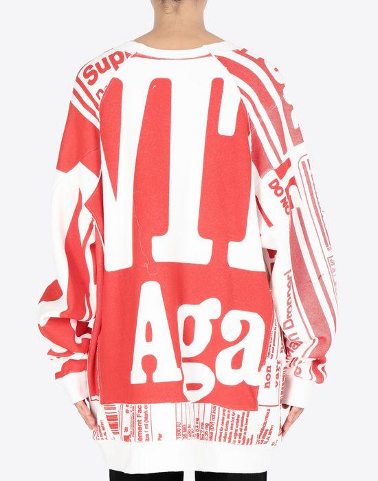MAISON MARGIELA Vitamin print sweatshirt Sweatshirt [*** pickupInStoreShipping_info ***] e