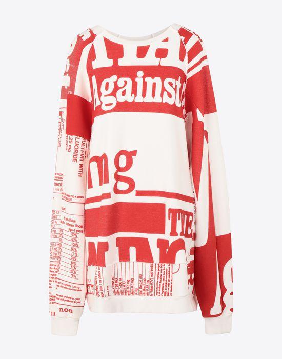 MAISON MARGIELA Vitamin print sweatshirt Sweatshirt [*** pickupInStoreShipping_info ***] f