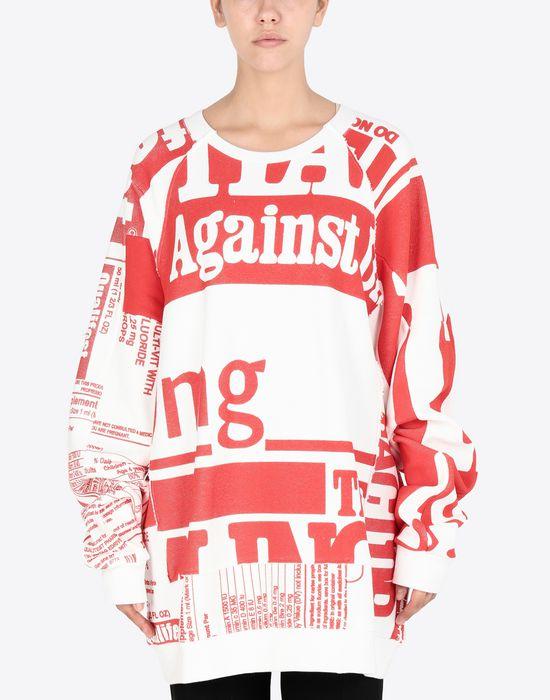 MAISON MARGIELA Vitamin print sweatshirt Sweatshirt [*** pickupInStoreShipping_info ***] r
