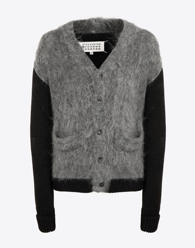 MAISON MARGIELA Cardigan [*** pickupInStoreShippingNotGuaranteed_info ***] Brushed wool-blend cardigan pullover f