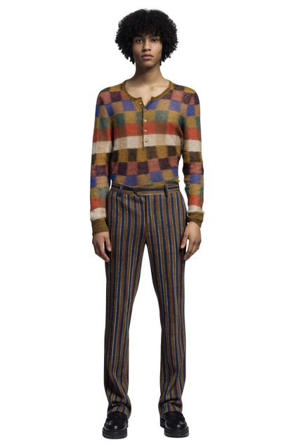 MISSONI Crew-neck Ochre Man - Back