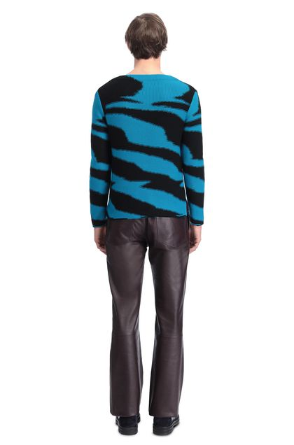 MISSONI V-Neck Turquoise Man - Front