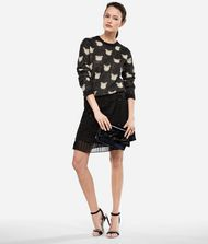 KARL LAGERFELD Pullover aus Wolle-Mohair-Mix im Choupette-Design 9_f