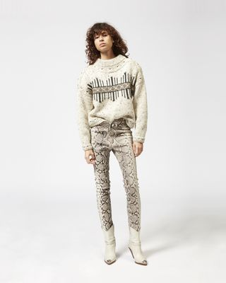 ELWYN graphic jumper
