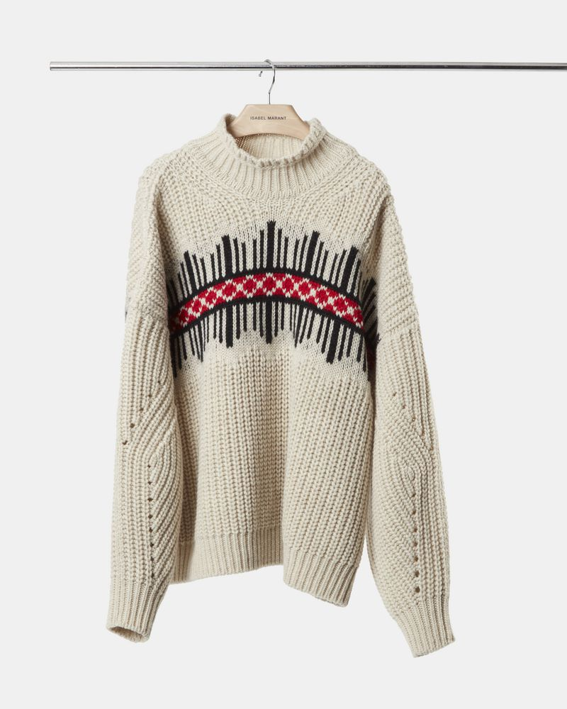 CLOTIL graphic jumper ISABEL MARANT