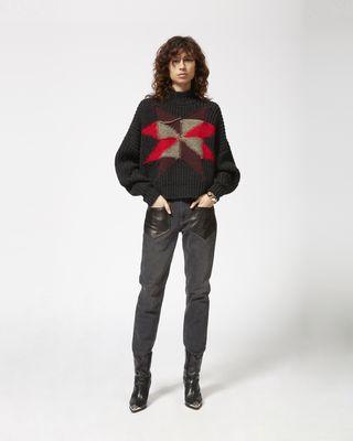 HANOI patchwork jumper