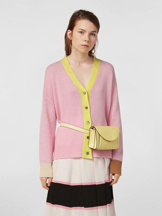 Marni Cardigan in color-block cashmere Woman - 1