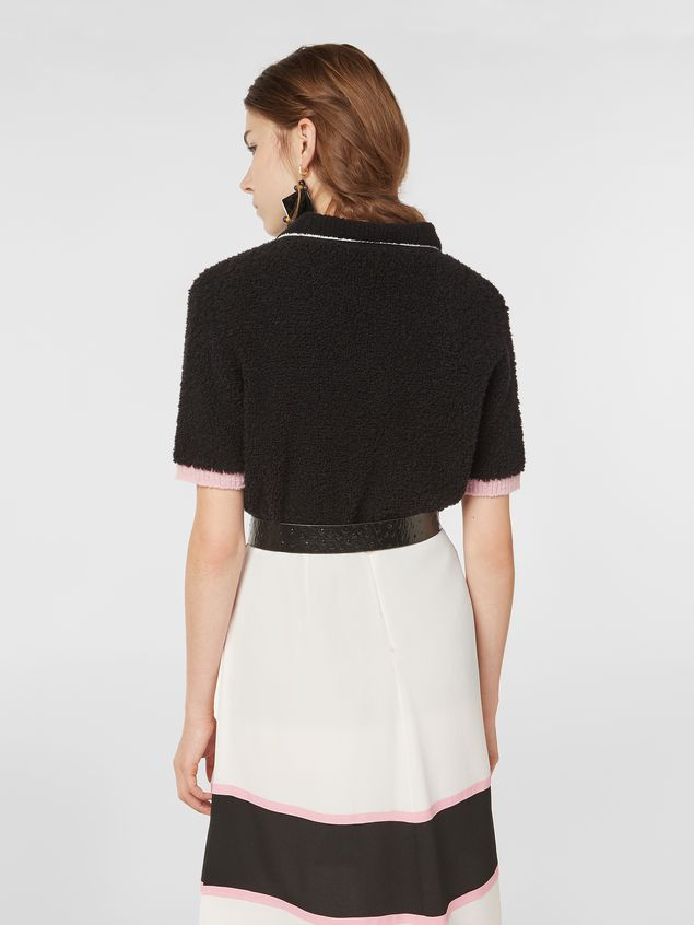 Marni Polo neck knit in virgin wool and nylon Woman
