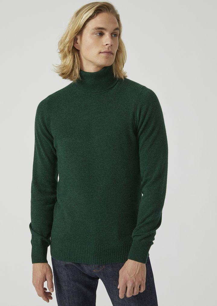 quality design 580c2 81921 Maglione dolcevita in puro cashmere