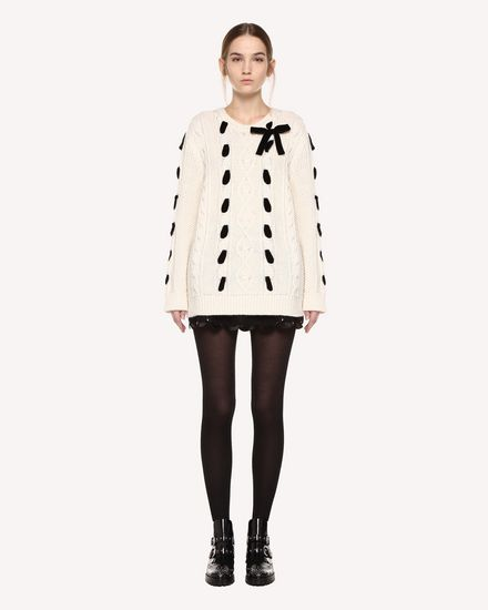REDValentino Knit Sweater Woman QR0KC1F545P E01 f