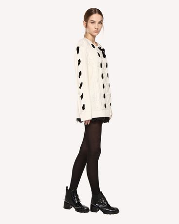 REDValentino QR0KC1F545P E01 Knit Sweater Woman d