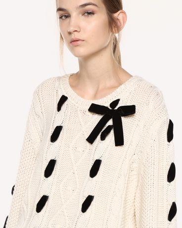 REDValentino QR0KC1F545P E01 Knit Sweater Woman e