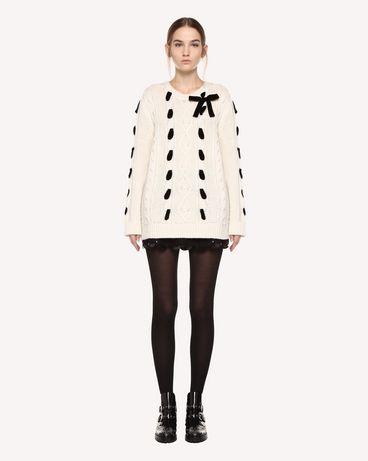 REDValentino QR0KC1F545P E01 Knit Sweater Woman f