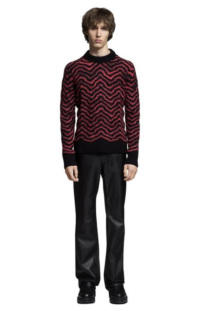 MISSONI Crew-neck Maroon Man - Back