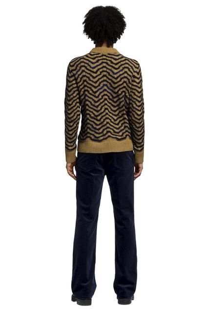 MISSONI Crew-neck Brown Man - Front