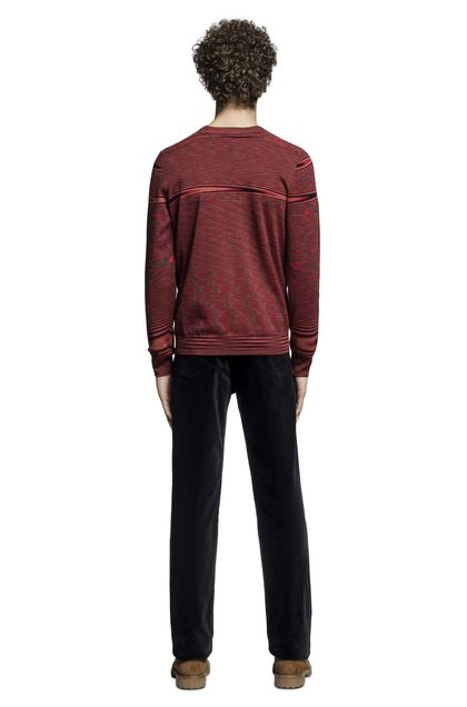 MISSONI Cardigan Red Man - Front