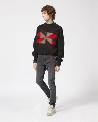 ISABEL MARANT LONG SLEEVE JUMPER Man HOBY jumper  r