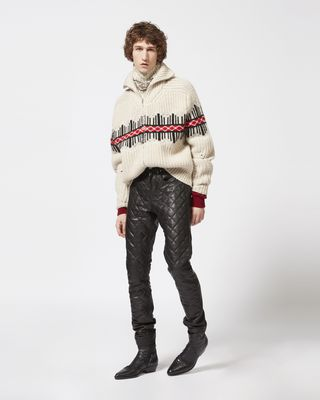 ISABEL MARANT CARDIGAN Man DACK zipped cardigan  r
