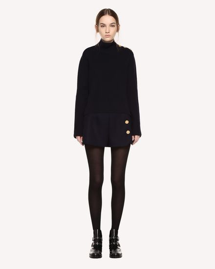 REDValentino Knit Sweater Woman QR0KC09G46D B01 f