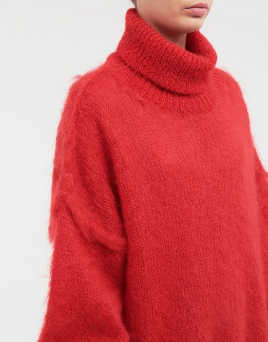 MAISON MARGIELA Oversized mohair pullover High neck sweater [*** pickupInStoreShipping_info ***] a