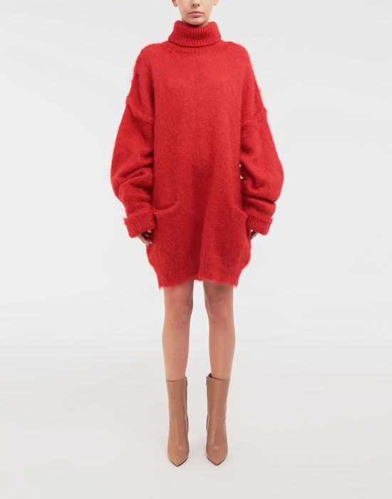 MAISON MARGIELA Oversized mohair pullover High neck sweater [*** pickupInStoreShipping_info ***] r