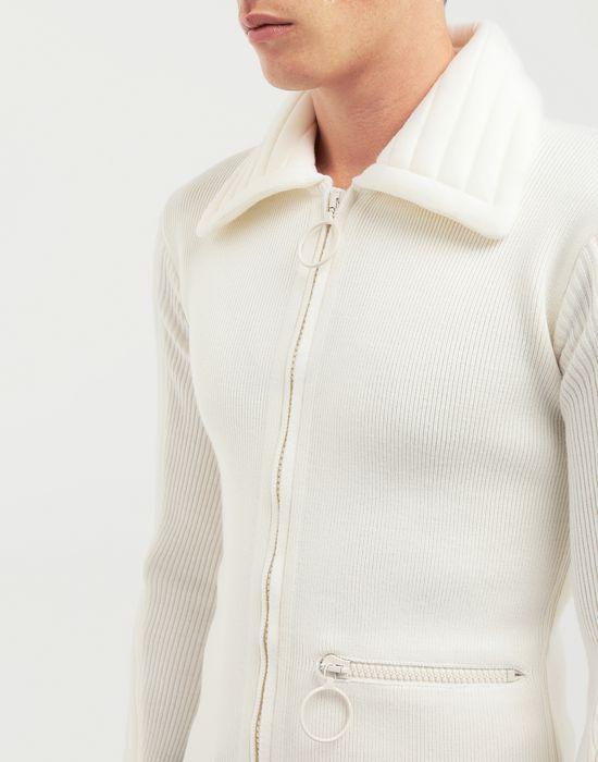 MAISON MARGIELA Padded jersey knit pullover  Cardigan [*** pickupInStoreShippingNotGuaranteed_info ***] a