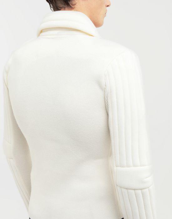 MAISON MARGIELA Padded jersey knit pullover  Cardigan [*** pickupInStoreShippingNotGuaranteed_info ***] b